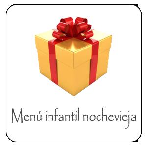 Menu infantil nochevieja 2018