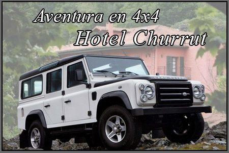 Aventura 4x4 hotel churrut